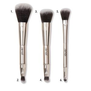 Jouer 6 Makeup Brush Set - Limited Edition